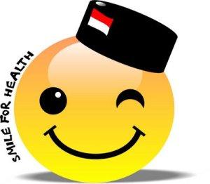 Tersenyumlah..., ya, begitu!