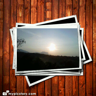 Sun is shining beautifully