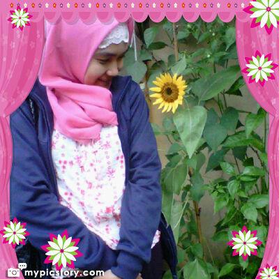 With Sun Flower